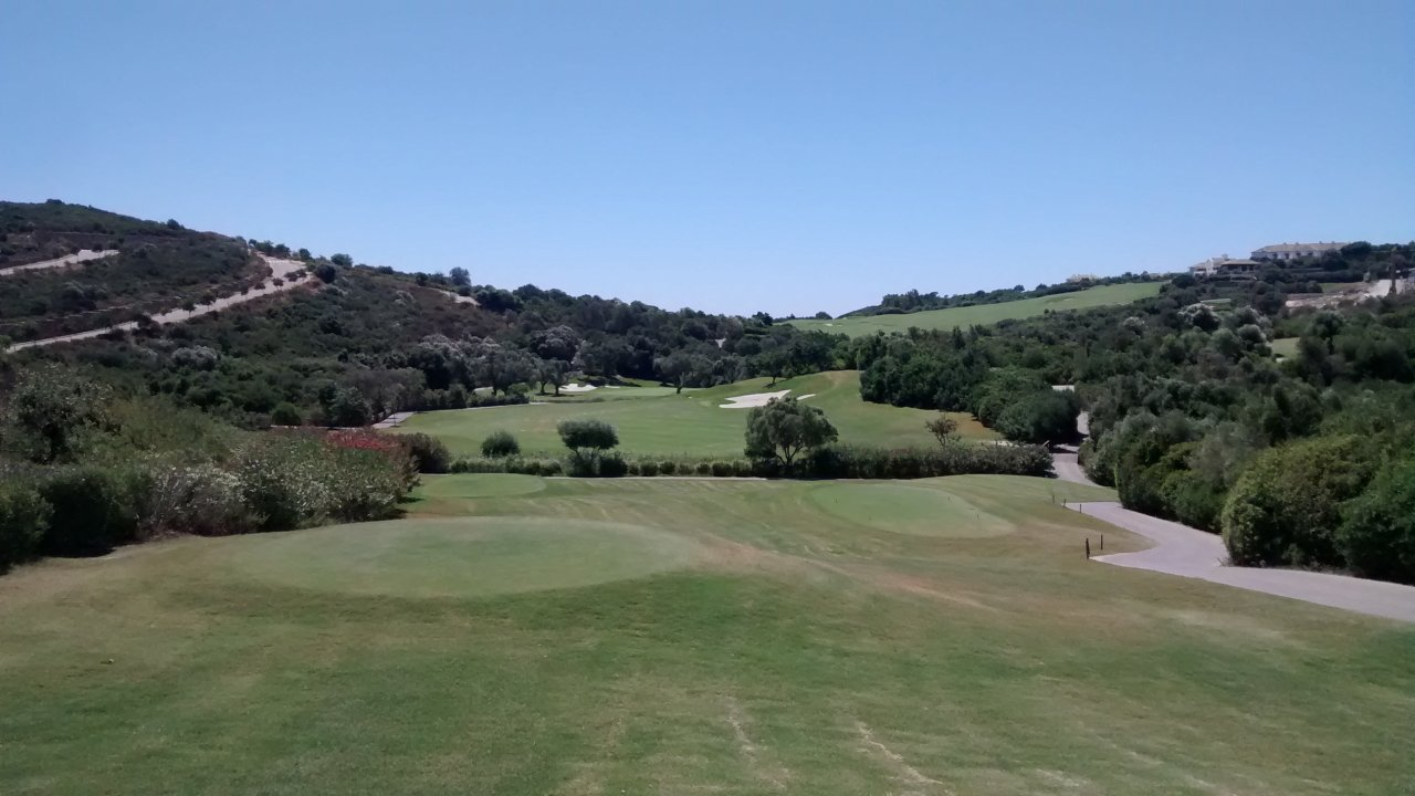 Finca Cortesin golf course, Costa del Sol, Spain