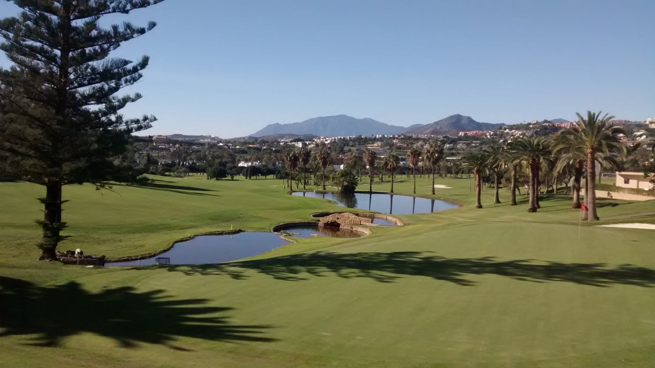 Los Naranjos golf course, Costa del Sol, Spain