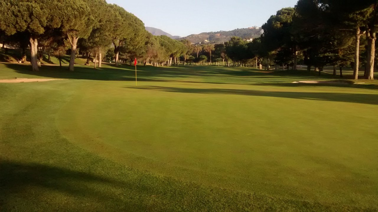 Rio Real golf course, Costa del Sol, Spain