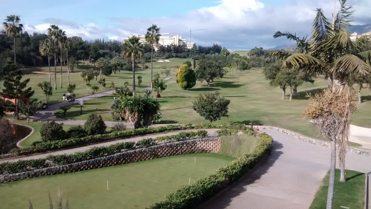 Santa Clara golf course, Costa del Sol, Spain